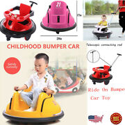 Kids 6v Electric Ride On Bumper Car 360anddeg Battery Powered Car W/ Remote Control