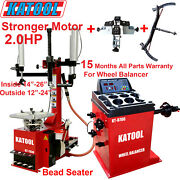 Katool Combe Tire Changer And Wheel Balancer With Motorcycle Wheel Adaptor