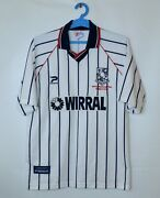 Tranmere Rovers Worthington Cup Final Home Shirt 1999/00 42/44 Patrick