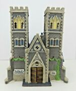 Dept 56 Christmas In The City Cathedral Church Of St Mark 55492 Edt 2591/17500