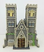 Dept 56 Christmas In The City Cathedral Church Of St Mark 55492 Edt 2591/17,500