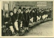 Europe Adults Andamp Children On Train Ride Vintage Photo