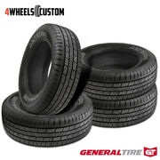 4 X New General Grabber Hts60 255/65r16 109h Highway All-season Tire