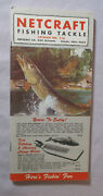 1971 Netcraft Fishing Tackle Catalog Rod And Reels Hooks Shakespeare 172 Pages