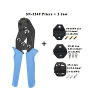 Crimping Plier Jaw Kits Cable Wire Stripper Insulation Terminals Clamping Tools