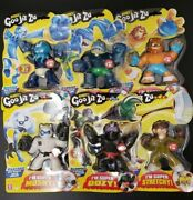 Hero's Of Goo Jit Zu 13 Action Figs With Unique Goo Fillings Hero Pack
