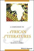 Companion To African Literatures English Hardcover Book Free Shipping