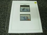 37054 Us Federal Duck Stamps Rw19 1952 Harlequin Ducks Tribute To John Dick