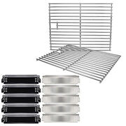 Heat Plates Cooking Grates For Home Depot Nexgrill 720-0888 720-0830h 720-0830d