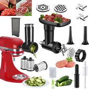 Slicer Shredder Meat Grinder Attachment For Kitchen Aid Stand Mixer Cheese Fruit