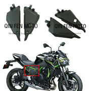 For Kawasaki Z650 17-21 Leather Seat Frame Rear Brake Cup Fuel Tank Cover Shell