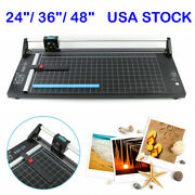 24 / 36 / 48 Manual Precision Rotary Paper Trimmer Sharp Photo Paper Cutter