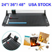 Usa - 36 / 48 Manual Precision Rotary Paper Trimmer Sharp Photo Paper Cutter