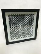 Victor Vasarely- 3d Wall Sculpture/object Cinetiques