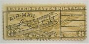 1932 Early Us Airmail C17 With Son Crisp And Clear Biplane Cancel