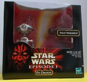 @new@ Star Wars Episode 1 - 12 Scaled Pit Droids Os In Factory Sealed Box