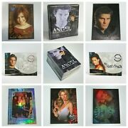 Buffy The Vampire Slayer And Angel Trading Cards Foil Chase Promo Binders Chrome
