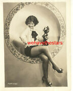 Vintage Sally Starr Sexy Legs Pinup With Felix The Cat Early 30s Mgm Pubportrait