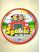 Spot It On The Road, Travel Game, Complete In Tin Storage Can, Family Game, 7+