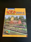 2004 Walthers Nandz Model Railroad Reference Book Softcover