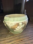 Roseville Pottery Donatello Small Bowl 4 High X 5 Wide