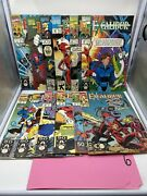 Lot Of 12 Marvel Excalibur Comics Graphic Novels Used Good Condition