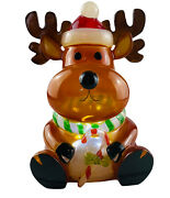 Led Christmas Reindeer Night Light W/ Box Resin From Costco 2012