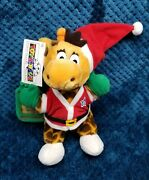 Toys R Us Geoffrey Christmas Gift Card Holder Plush New York Times Square 2001