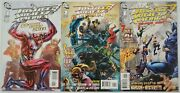 Justice Society Of America 80-page Giant Set Of 3 Vf/nm Complete Lot Dc Jsa 1