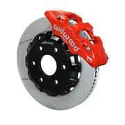 Wilwood 140-9789-r W6a 14.25 Front Brake Kit 99-up Gm Truck/suv 1500