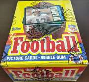 1985 Topps Football Unopened Bbce Sealed 36 Pack Box Authentic 62942