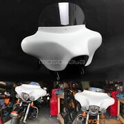 Motorcycle Detachable Batwing Fairing 6x9 Speakers For Harley Davidson Road King