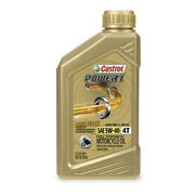 Castrol Power1 4t Full Synthetic Motorcycle Oil 10w40 1 Quart 430117