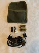 Wwii Ww2 Us Army Signal Corp Radio Maintenance Kit Pouch Full Cook Electric 1