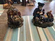 Lot Of Two Boyd Bear Collectibles/figurines Rock Climbing Police Officer 9