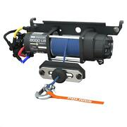 Polaris 2882710 Hd 6000lbs. Winch With Rapid Rope Recovery