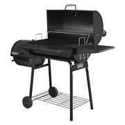 30 Bbq Charcoal Grill With Offset Smoker Outdoor For Camping