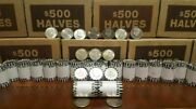 Silver Kennedy Half Dollar Roll Ender Unsearched Bank Rolls 40 Silver Visible
