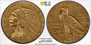 1909 2.50 Gold Indian Head Quarter Eagle Pcgs Xf Detail Cleaned Us Mint Coin
