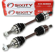 Kawasaki Front Left And Right Cv Axles 700 360 Prairie 650 Brute Force Pair Ij