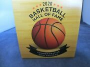 2020-p One Colorized Basketball Hall Of Fame Silver Dollar Proof .77 Oz Silver