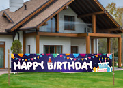 Birthday Banner Birthday Party Decorations For Indoor Or Outdoor