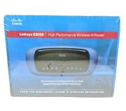 New Cisco Linksys E3000 High Performance Wireless-n Dual-band Router