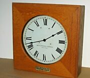 Rare Western Union By Self Winding Clock Company N.y., Naval Observatory Time