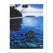 Two Worlds Of Paradise Limited Edition Giclee On