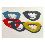 Andy Warhol I Love Your Kiss Forever Forever Limited