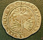 1474-1504 Ferdinand And Isabella Catholic Monarchs Real Super Nice T-181a