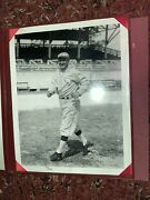 Vintage Bruce Murray Collection 11x14 Limited Print Cobb In Binder