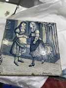 Josiah Wedgwood And Sons 6 X 6 Months Calendar January Tile, Old English, Etruria
