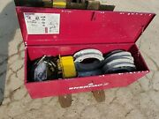 Enerpac Mini-eegor Conduit And Pipe Bender New W/ Used Electric Pump -ships Free😎